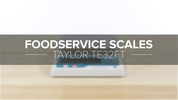 Taylor TE32FT Compact Digital Scale