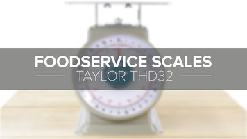 Taylor THD32 Mechanical Portion Scale