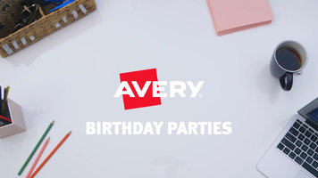Throw a Themed Party with Avery