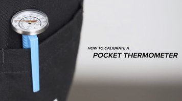 How to Calibrate a Pocket Thermometer