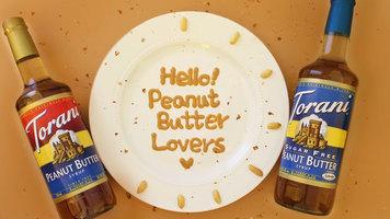 Torani Peanut Butter Milkshake