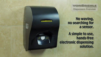 VonDrehle Touch Your Towel Electronic Paper Towel Dispenser