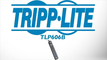 Tripp Lite TLP606B 6-Outlet 8 ft Surge Protector