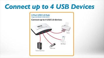 Tripp Lite U360-004 4 Port USB Hub