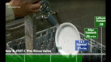 TS Brass B-0107C Super Low Flow Pre-Rinse Spray Valve