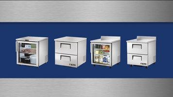 True TUC-27 and TWT-27 Series Refrigerators