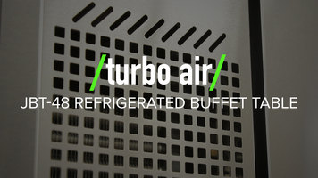 Turbo Air JBT-48 Refrigerated Buffet Table