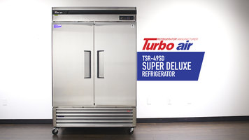 Turbo Air Super Deluxe Reach-In Refrigerators