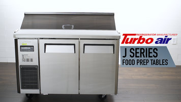 Turbo Air J Series Food Prep Tables