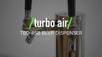 Turbo Air TBD-4SB Beer Dispenser