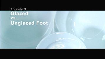 Tuxton China: Glazed vs Unglazed Foot