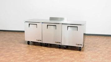True Undercounter and Worktop Refrigerator