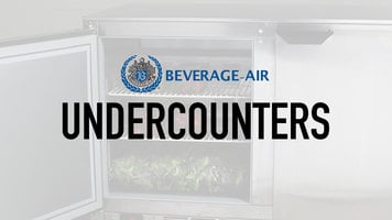 Beverage Air Undercounters