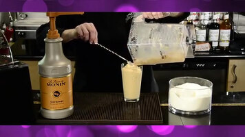 Monin: How to Make a Flavored Frappe