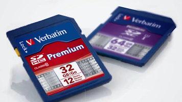 Verbatim Premium SDHC Memory Cards