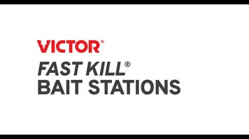 Victor® Fast-Kill® Brand Mouse and Rat Bait Stations