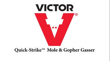 How to Use the Victor® Quick-Strike™ Mole & Gopher Gasser