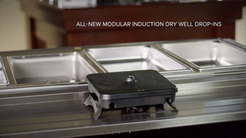 Vollrath Modular Induction Dry Well Drop-Ins
