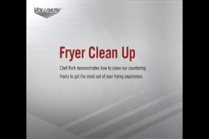 How to Clean a Vollrath Deep Fryer