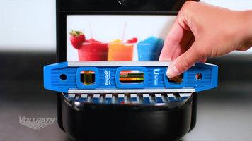 Vollrath Frozen Beverage Granita Machine: Setup
