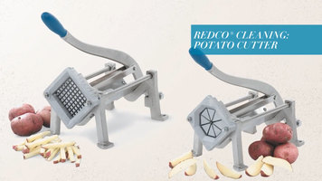 Vollrath Redco French Fry Cutter: Cleaning