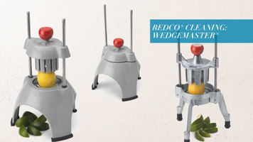 Vollrath Redco Wedgemaster: Cleaning