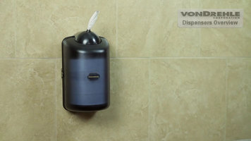 VonDrehle Mini Center Pull Towel Dispenser