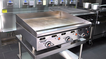 Vulcan 900RX and MSA Series Griddle Demonstration