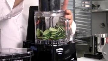 Waring FP1000 Food Processor Demonstration