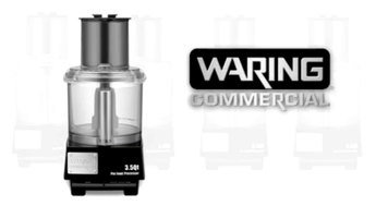 Waring WFP14S Series LiquiLock Food Processors