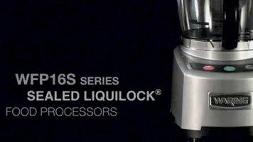 Waring WFP16S Series LiquiLock Food Processors
