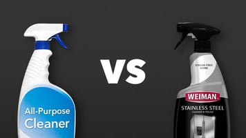 Weiman Stainless Steel Cleaner & Polisher: Spray Bottle