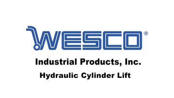 Wesco Industrial Products Hydraulic Cylinder Lift