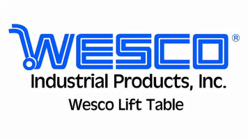Wesco Industrial Products Lift Table