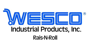 Wesco Industrial Products Rais-N-Rol Machinery Mover