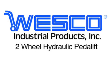 Wesco Two Wheeled Hydraulic Pedalift