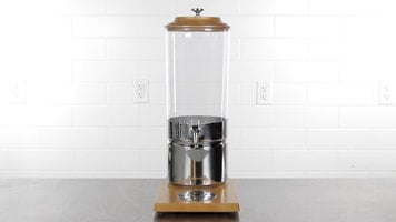 Choice Wooden Base Beverage Dispensers
