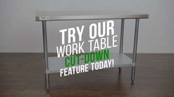 Work Table Cut-Down Service