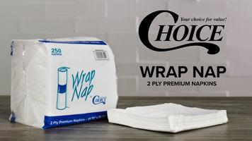 Choice WrapNap Premium Napkins