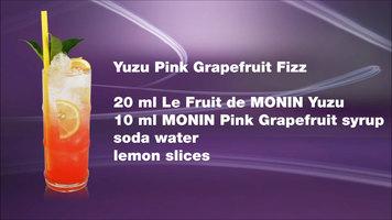 Yuzu Grapefruit Fizz by Monin