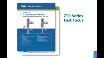 Zurn ZTR Series Flush Valves