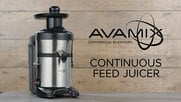 Avamix Continuous Feed Juicer