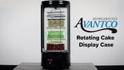 Avantco Rotating Cake Display