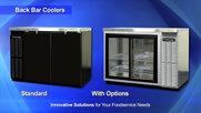 Continental Refrigeration Back Bar Equipment