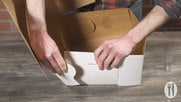 How to Assemble Lock Corner Bakery Boxes