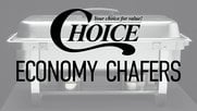 Choice Economy Chafing Dishes