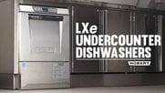 Hobart LXe Undercounter Dishwashers