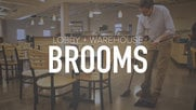 Lobby and Warehouse Brooms