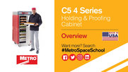 Metro C5 4 Series Holding and Proofing Cabinets