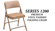 National Public Seating 1200 Series Folding Chair